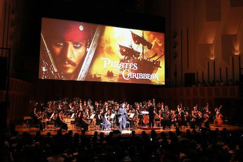 ご来場のお客様へ/緊急事態宣言下のための対応について『パイレーツ・オブ・カリビアン/呪われた海賊たち』フィルム∞オーケストラ 2021